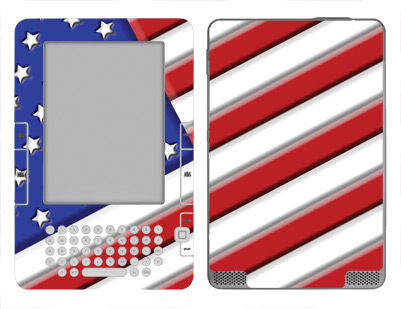 Amazon Kindle 2 Skin :: American Flag 1
