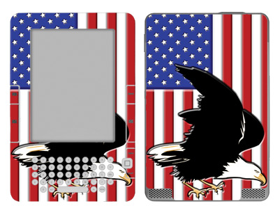 Amazon Kindle 2 Skin :: American Flag 2