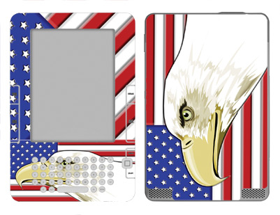 Amazon Kindle 2 Skin :: American Flag 3