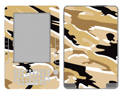 Amazon Kindle 2 Skin :: Camo Desert