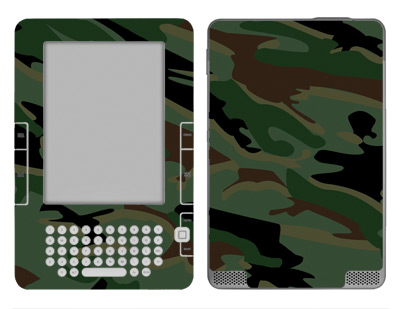 Amazon Kindle 2 Skin :: Camo Green