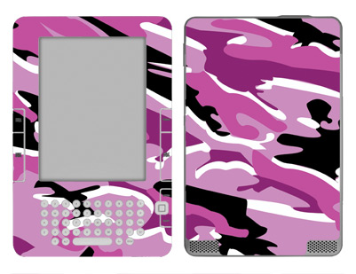 Amazon Kindle 2 Skin :: Camo Pink