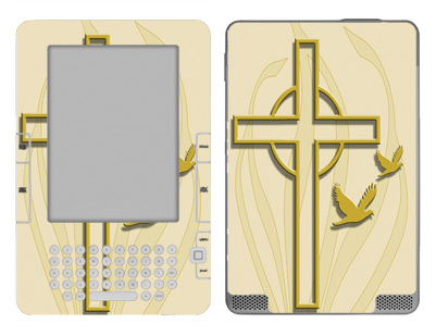 Amazon Kindle 2 Skin :: Christian 1