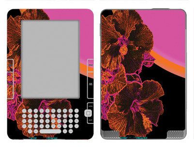 Amazon Kindle 2 Skin :: Cosmic Flowers 3