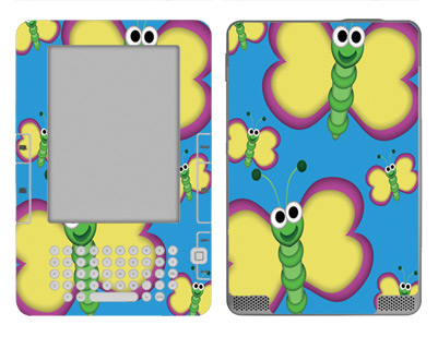 Amazon Kindle 2 Skin :: Digital Butterfly