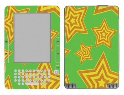 Amazon Kindle 2 Skin :: Falling Stars
