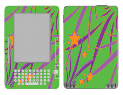 Amazon Kindle 2 Skin :: Floating Stars