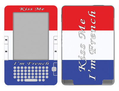 Amazon Kindle 2 Skin :: Kiss Me French