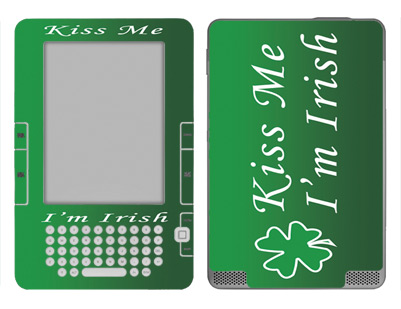 Amazon Kindle 2 Skin :: Kiss Me Irish
