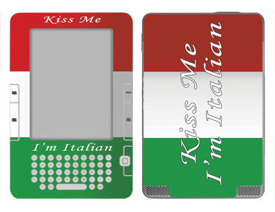 Amazon Kindle 2 Skin :: Kiss Me Italian