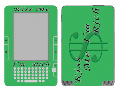 Amazon Kindle 2 Skin :: Kiss Me Rich