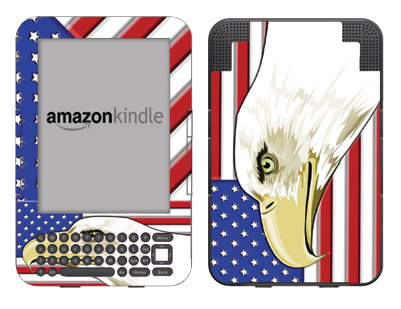 Amazon Kindle 3 Skin :: American Flag 3