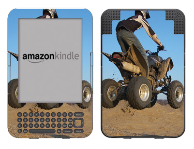 Amazon Kindle 3 Skin :: ATV Rider