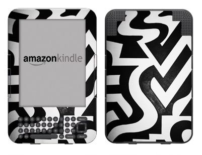 Amazon Kindle 3 Skin :: Chaos Theory