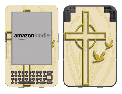 Amazon Kindle 3 Skin :: Christian 1