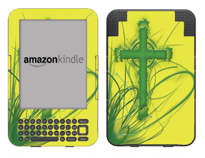 Amazon Kindle 3 Skin :: Christian 2