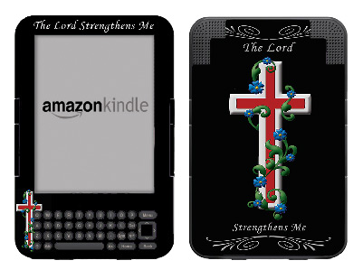 Amazon Kindle 3 Skin :: Christian 3