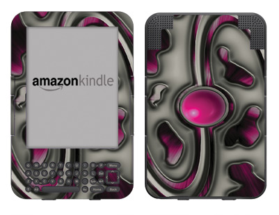 Amazon Kindle 3 Skin :: Cynic Pink