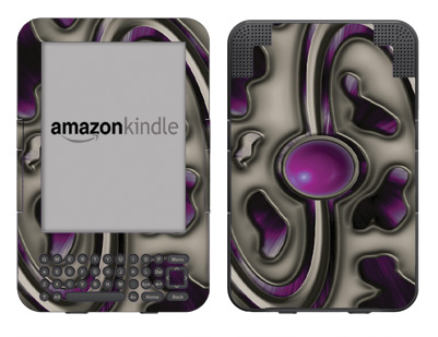Amazon Kindle 3 Skin :: Cynic Purple