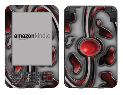 Amazon Kindle 3 Skin :: Cynic Red