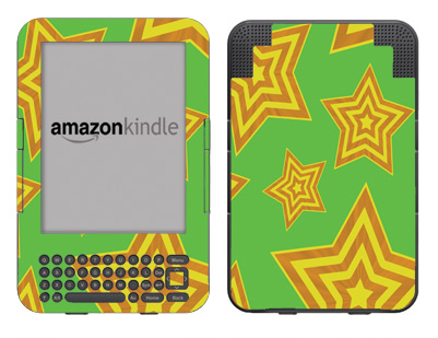 Amazon Kindle 3 Skin :: Falling Stars