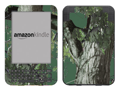 Amazon Kindle 3 Skin :: Tree Camo Green