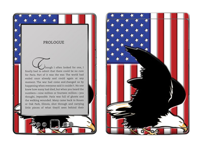 Amazon Kindle 4 Skin :: American Flag 2