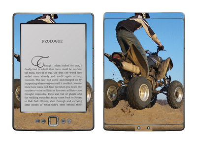 Amazon Kindle 4 Skin :: ATV Rider