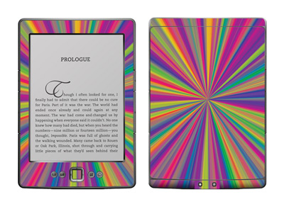 Amazon Kindle 4 Skin :: Color Blast
