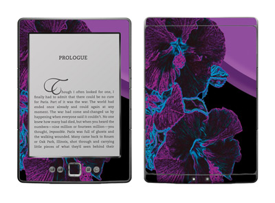 Amazon Kindle 4 Skin :: Cosmic Flowers 1