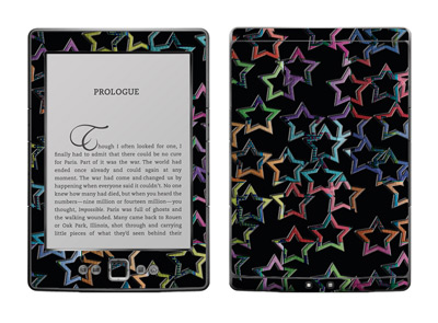 Amazon Kindle 4 Skin :: Star Circuit