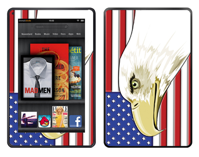 Amazon Kindle Fire Skin :: American Flag 3