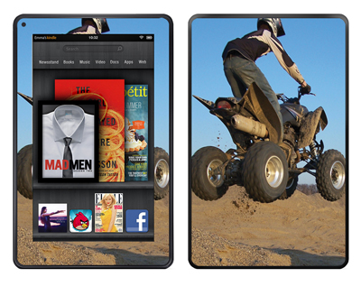 Amazon Kindle Fire Skin :: ATV Rider
