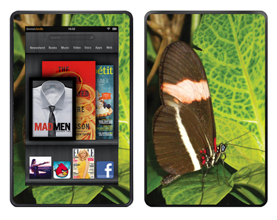 Amazon Kindle Fire Skin :: Butterfly 1