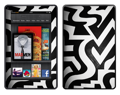 Amazon Kindle Fire Skin :: Chaos Theory