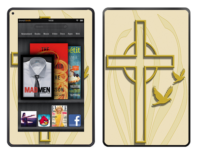 Amazon Kindle Fire Skin :: Christian 1
