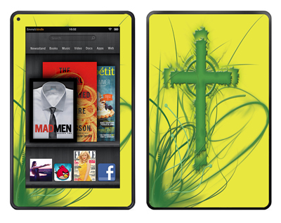 Amazon Kindle Fire Skin :: Christian 2