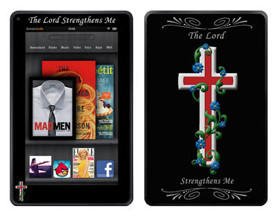 Amazon Kindle Fire Skin :: Christian 3