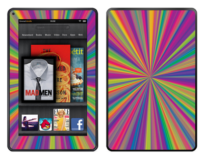 Amazon Kindle Fire Skin :: Color Blast