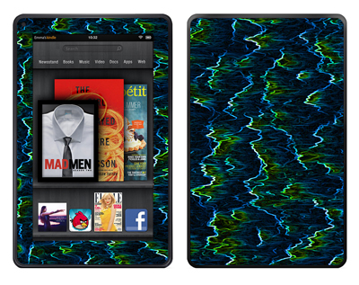 Amazon Kindle Fire Skin :: Electricity