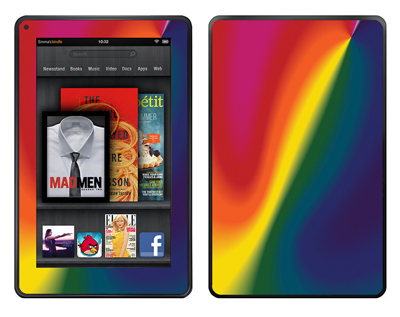 Amazon Kindle Fire Skin :: Polar Spectrum