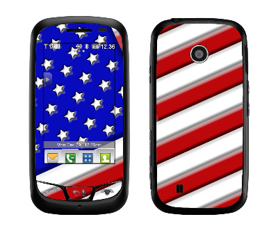 LG Cosmos Touch Skin :: American Flag 1