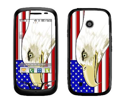 LG Cosmos Touch Skin :: American Flag 3