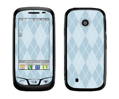LG Cosmos Touch Skin :: Argyle Blue