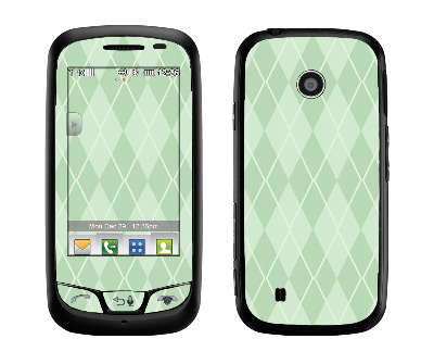 LG Cosmos Touch Skin :: Argyle Green