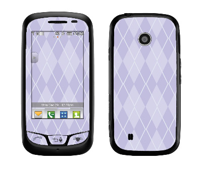 LG Cosmos Touch Skin :: Argyle Purple