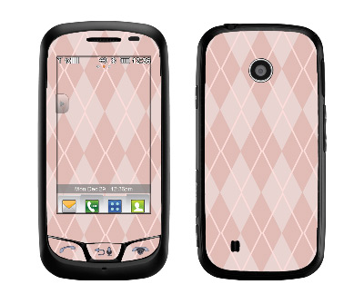 LG Cosmos Touch Skin :: Argyle Red