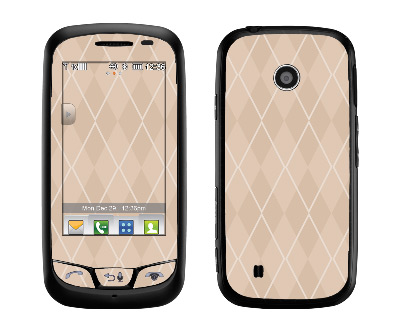 LG Cosmos Touch Skin :: Argyle Tan