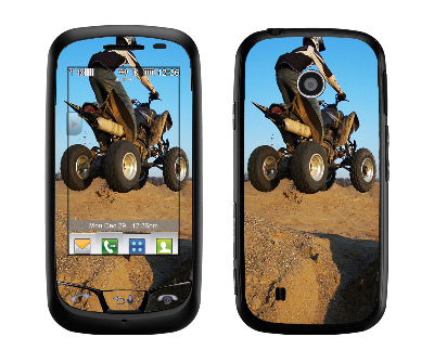 LG Cosmos Touch Skin :: ATV Rider