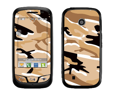 LG Cosmos Touch Skin :: Camo Desert